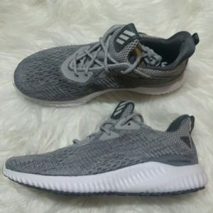 New Adidas Alphabounce Em Grey Running Sneakers